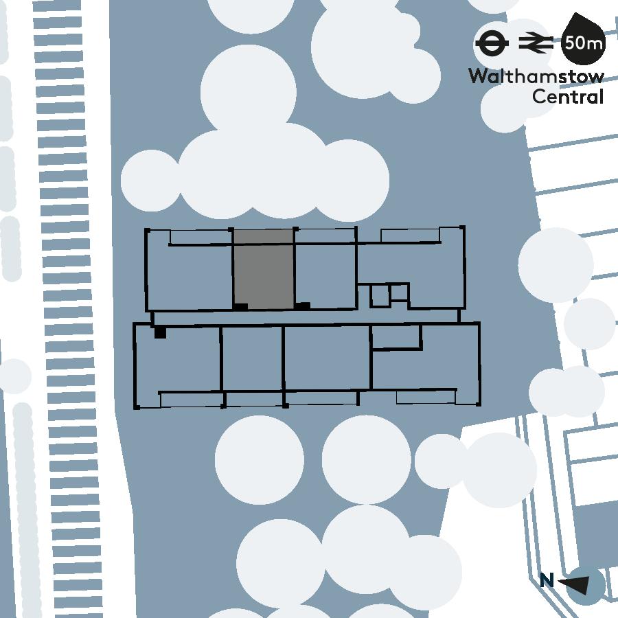Walthamstow Gateway - Apartment 9 Floorplan