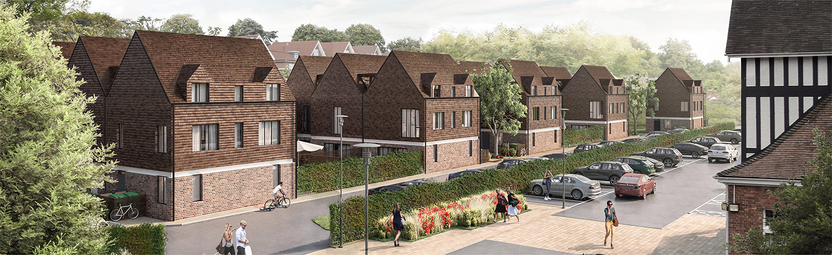 Render of kingswood development