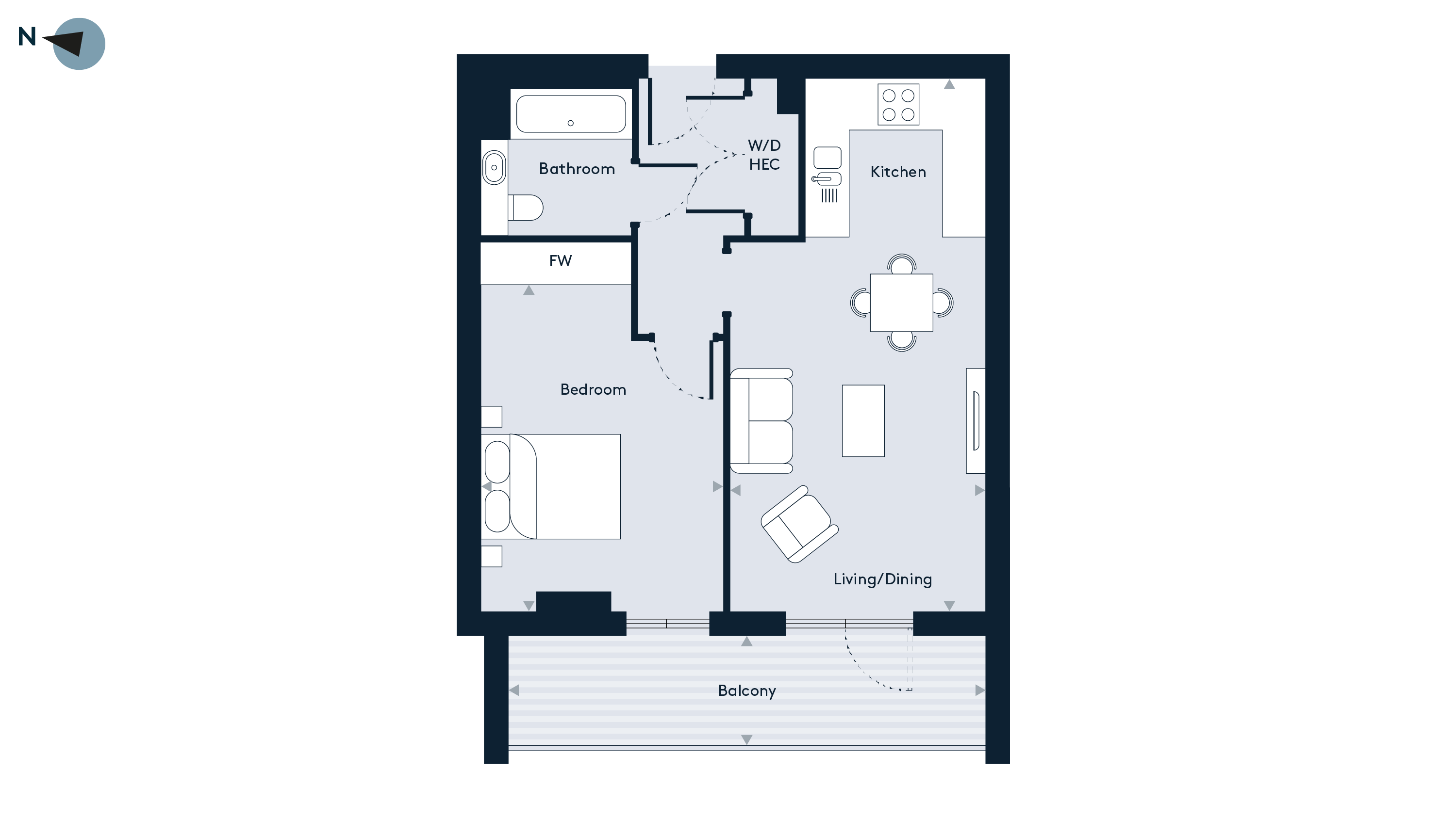 Walthamstow - Apartment 45 Floorplan