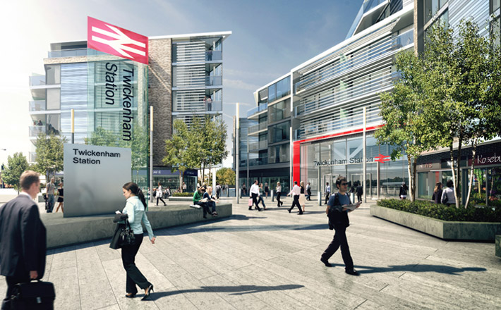 Twickenham Train Station - New Homes Developments