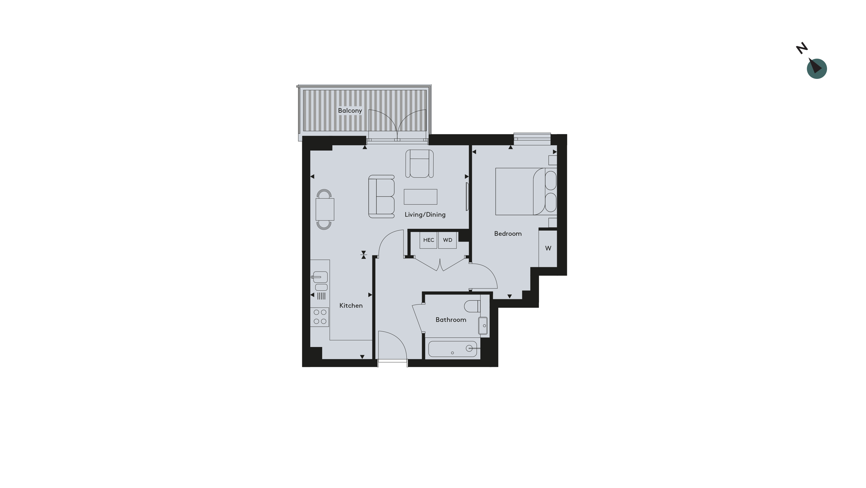 Twickenham - Apartment 24 Floorplan