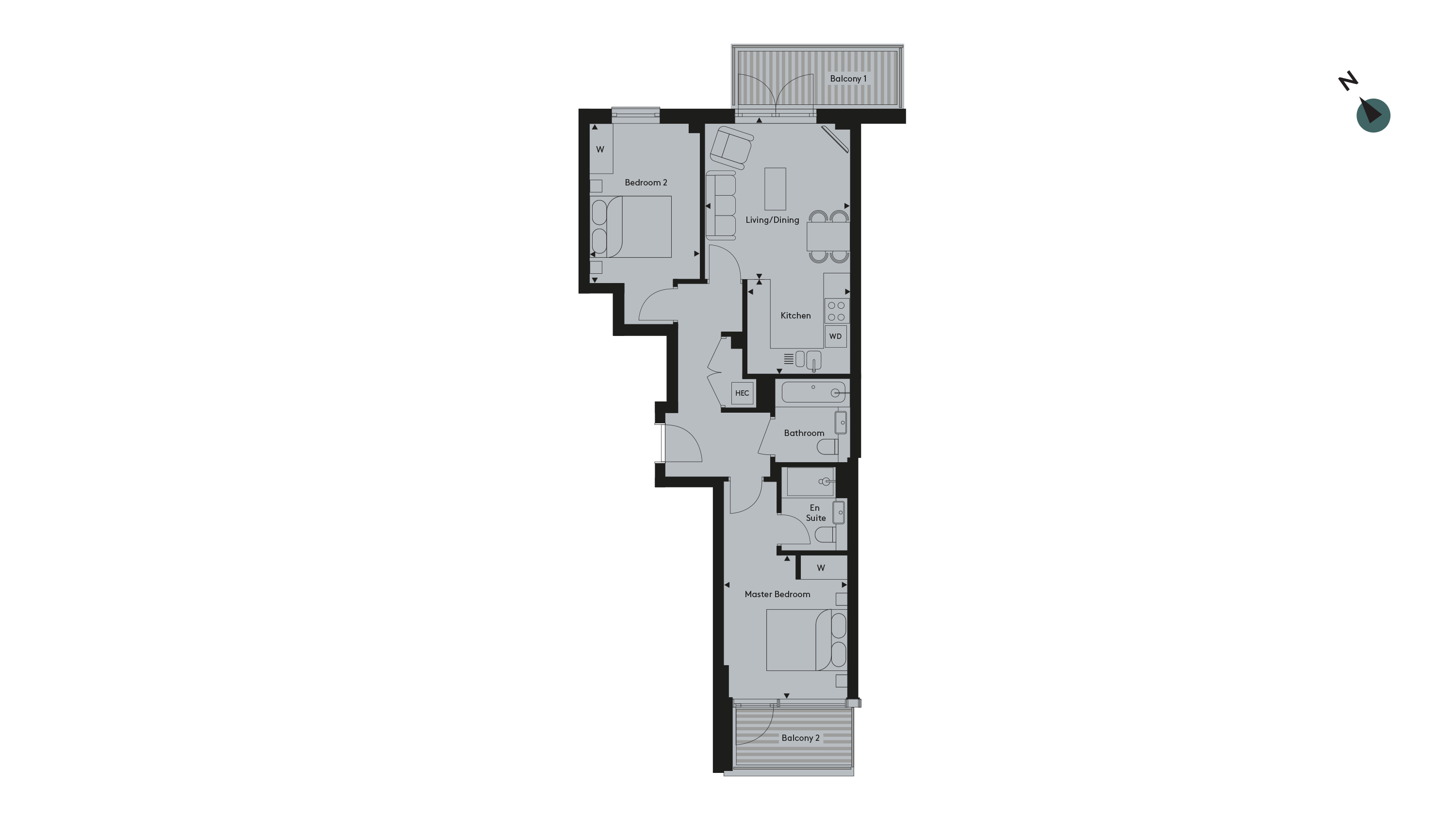 Twickenham Apartment 28 - Floorplan