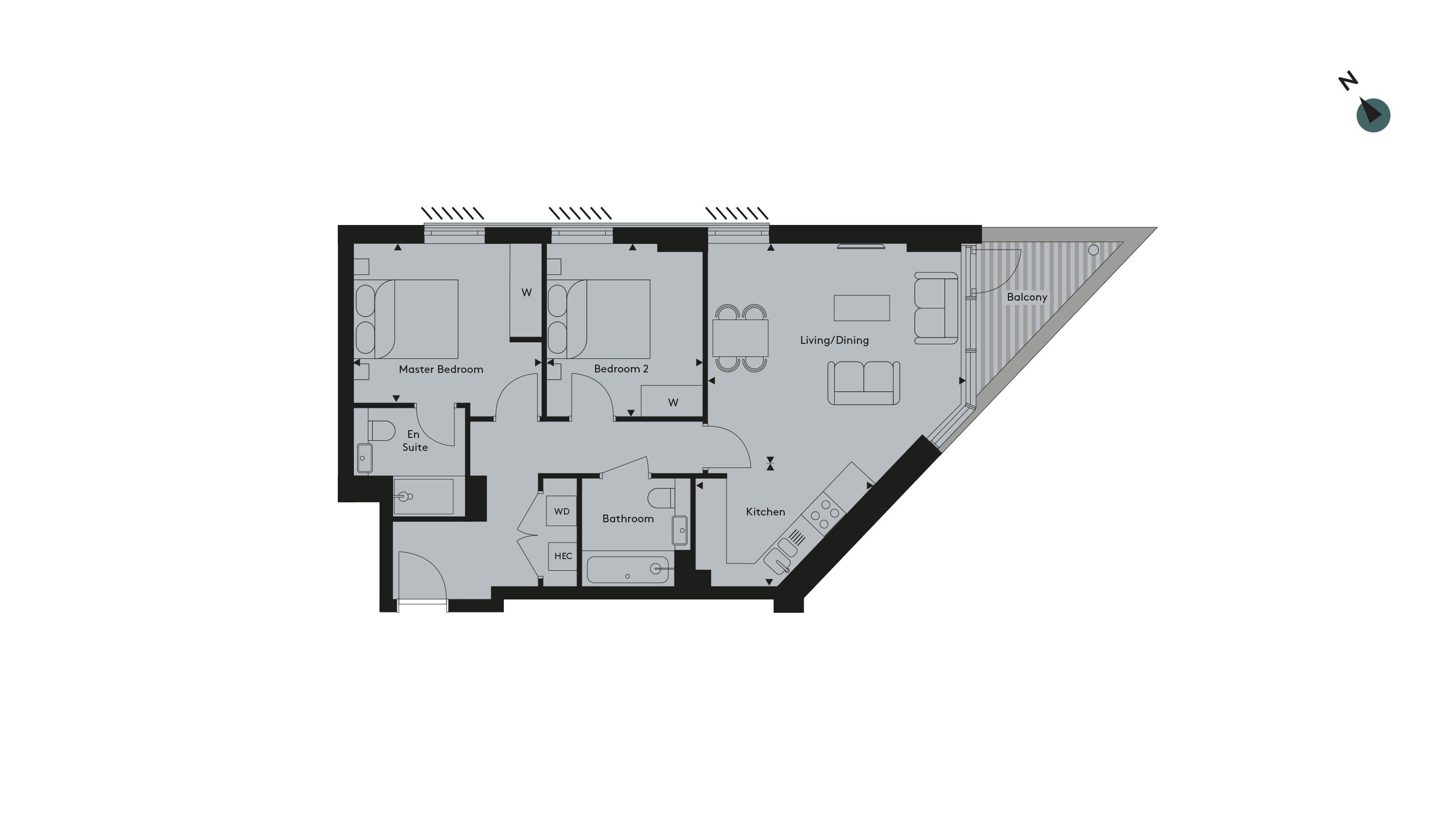 Twickenham Apartment 31 Floorplan