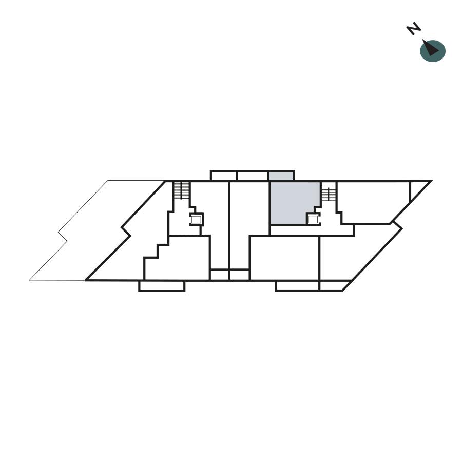 Twickenham Gateway Apartment 24 Floorplan