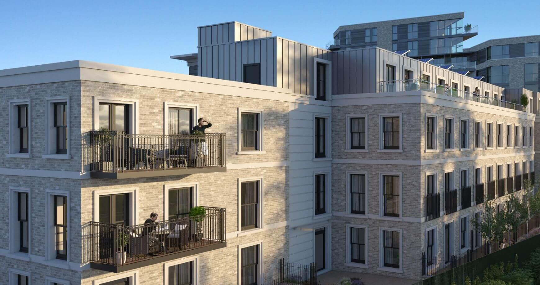 Twickenham Apartment 31 Balcony Space