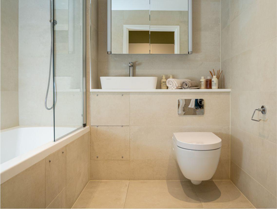 Twickenham Apartment 31 Bathroom Space